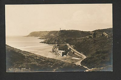 Caswell Bay - real photographic postcard