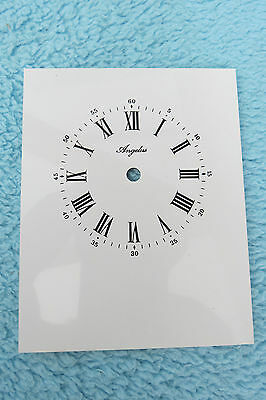 Vintage New Old Stock Large Angelus Carriage Clock Dial