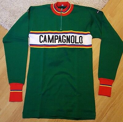Maillot CAMPAGNOLO vintage Santini eroica LS NOS jersey cycling ancien