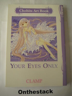 Chobits Art Book: Your Eyes Only by CLAMP (Paperback, 2007) In new condition!