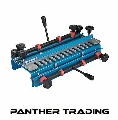 Silverline 300mm Dovetail Jig  Features Quick Action Clamps Woodwork - 633936