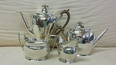 English  Sterling Silver 4 Piece Tea & Coffee  Set