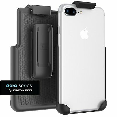 "Belt Clip Holster for iPhone 7 Plus (5.5"") - Case Free - Rotating- Quick Release"