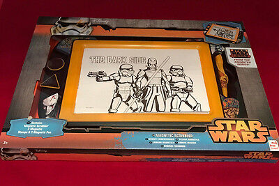 LARGE STAR WARS MAGNETIC SCRIBBLER SKETCH DRAWING TOY PARTY BIRTHDAY GIFT TOY