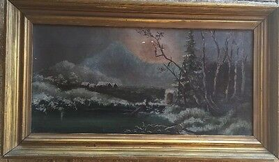 1800s Antique oil Painting