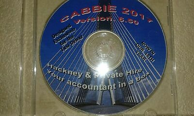 Taxi Driver Bookkeeping, Accounting & Tax Return Software Package Cabbie 2017