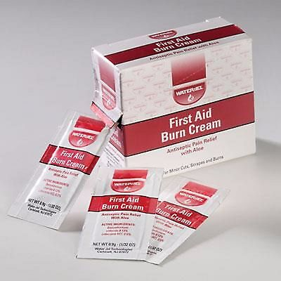 Waterjel First Aid Burn Cream .9gm FREE SHIPPING Pain releve with ALOE VERA