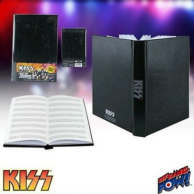 "KISS ""LIGHT UP JOURNAL""with Music Manuscript Paper KISS LOGO LIGHTS UP NEW"