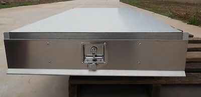UTE Under Tray Tool Box Trundle Drawer 1700mm Roller Draw