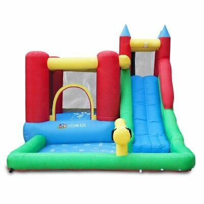 Lifespan Kids Surrey 2 Slide & Splash Kids Backyard Jumping Castle With Pool