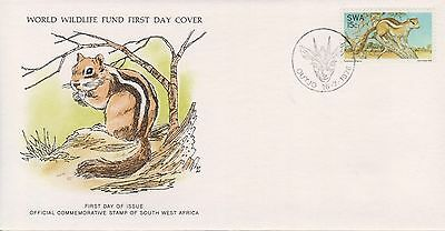 (WWF-16) 1976 South Africa no.16 the ground Squirrel cover