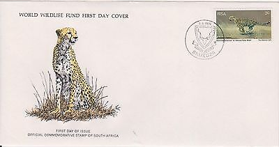 (WWF-9) 1976 South Africa no.9 the cheetah cover