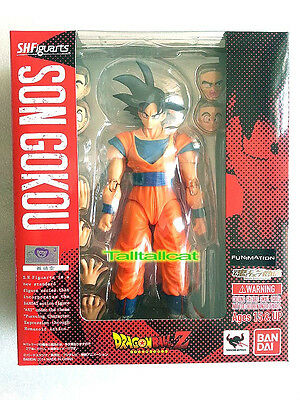Bandai Tamashii Web Ltd S.H.Figuarts Dragon Ball Z ( Son Gokou ) Action Figure