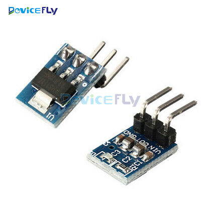 2PCS AMS1117-3.3 DC 5V to 3.3V Step-Down Power Supply Module LDO 800MA LDO IC AU
