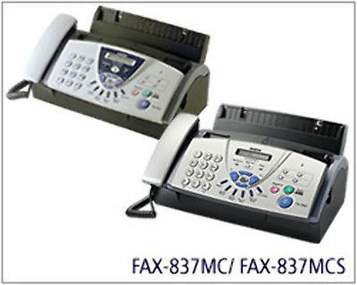 Brother Fax 837MCS 20pg Mem w/digital Answering Machine