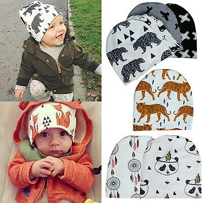 Trendy Toddler Kid Girl Boy Baby Infant Winter Warm Knit Hat Beanie Cap Engaging