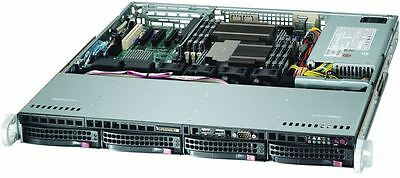 Supermicro 1U 350W Rack Chassi 4x 3.5' Hotswap/ATX/DVD Option