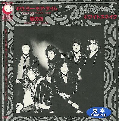 "Whitesnake - Give me more time (1984)  JAPAN 7"" PROMO"
