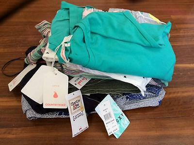 Free Post Girls NWT Bulk Summer Clothes Sz 10 x 11 Items,Roxy,Country Road (1)