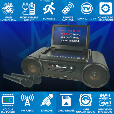 Mr Entertainer Partybox Karaoke Machine Packages. Choose Your Song Package!