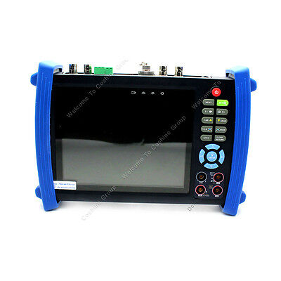"7"" CCTV Camera Monitor Tester Multimeter+HD SDI In/Out Test +Optical Power Meter"