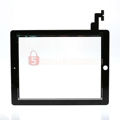 Touch Screen Glass Digitizer Compatible for Apple iPad 2 Repair Replacement