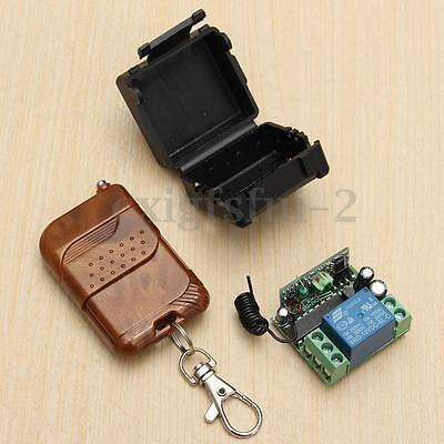 1-10x DC 12V 10A 1CH Channel Wireless Remote Control Switch Transmitter Receiver