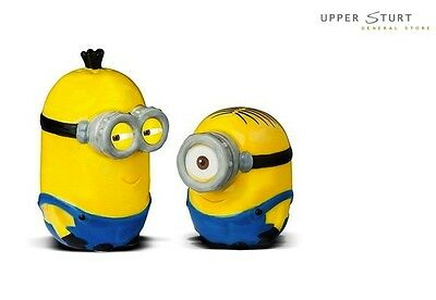 Despicable Me Minion Salt & Pepper Shaker Set FAST 'N FREE DELIVERY