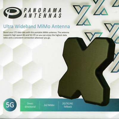 Genuine Panorama 3G 4G 4GX MiMo Antenna Suitable For Telstra AirCard Cradle