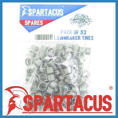 Spartacus 52 x Lawn Raker Tines Tynes To Replace Atco F016T47920  Scarifier