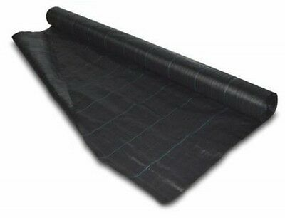 2m x 50m Weed Control Ground Sheet Garden Cover Membrane Landscape Fabric. New