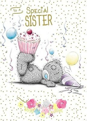 Me To You To A Special Sister Birthday Card Tatty Teddy Bear New Gift