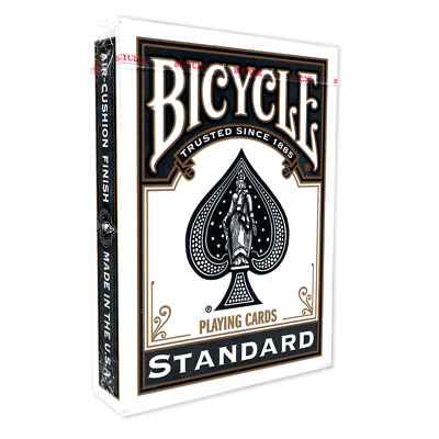 Black Backed Bicycle Playing Cards  / Deck - Genuine Bicycle Stock Poker 808