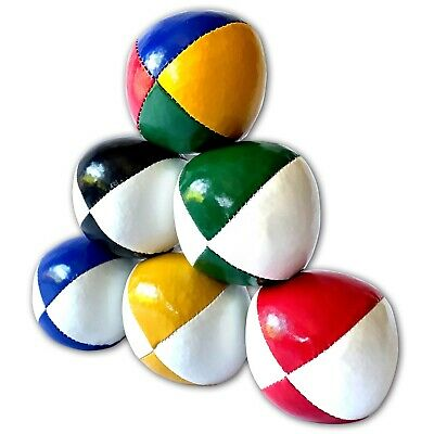 3 x Professional Quality Juggling Balls 120g 'Thuds - Choose colour  - SEE VIDEO