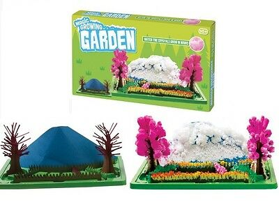 Kids Magic Growing Crystal Tree Kit Science Flower Garden Christmas Toy Gift New