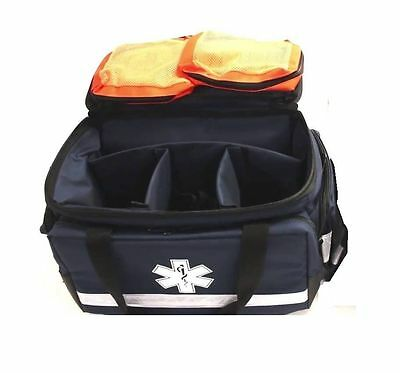 First on Scene Sports Trauma Dr First Aider Kit Bag Paramedic EMT Nurse Rescue