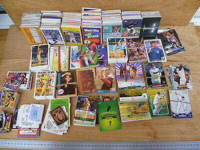Vintage Old Huge Mainly Australian Collection Of Sporting Cards, Lot (B742)