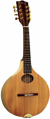 Ashbury Style A ASH MANDOLIN, solid spruce top, flamed Ash body. From Hobgoblin