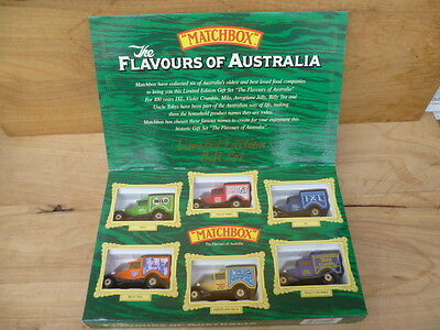 Vintage Style New Matchbox Boxed Set Of Diecast Cars, Old Toys (B766)