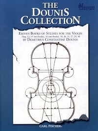 DOUNIS COLLECTION (11 Books of Studies) Violin