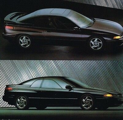 1992 Subaru Brochure / Catalog:SVX,LEGACY,LOYALE,JUSTY,GL,Station Wagon,L,LS,4WD