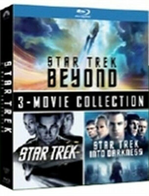 Star Trek 3-Movie Collection (3 Blu-Ray Disc)
