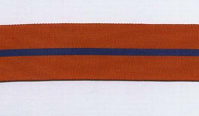 """12"""" of Full Size Medal Ribbon for the 1902 Coronation Police Medal"""