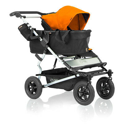 Mountain Buggy 2016 Evolution Duet Single Stroller - Orange - New! Free Shipping