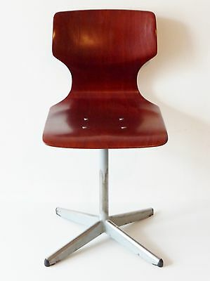 Pagholz : Chair School Child 1950 1960 Vintage 50S 60S School Skin