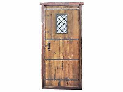Antique Single Front Door #D1065