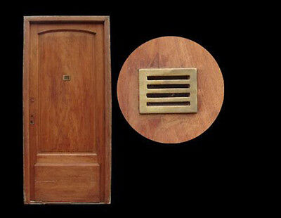 Salvaged Single Entry Door w/ Peephole #A1865