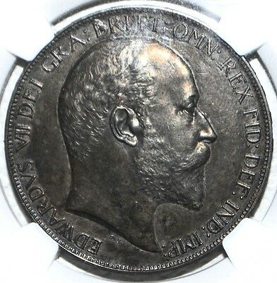 1902 Great Britain Crown PF62 Matte NGC Silver Proof KM# 803