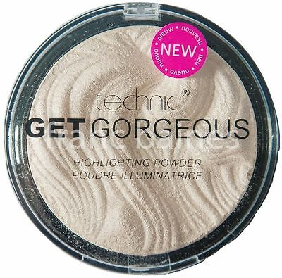 Technic Get Gorgeous Highlighting Contouring Illuminating Face Powder Compact