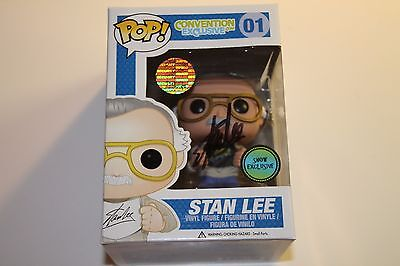 Funko Pop Convention Exclusive EXCELSIOR STAN LEE SIGNED #01 autograph
